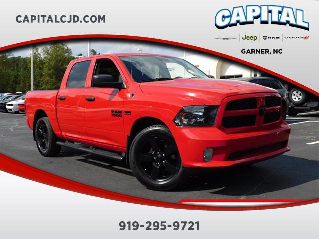 Flame Red Clearcoat 2017 RAM 1500 EXPRESS Short Bed Garner NC