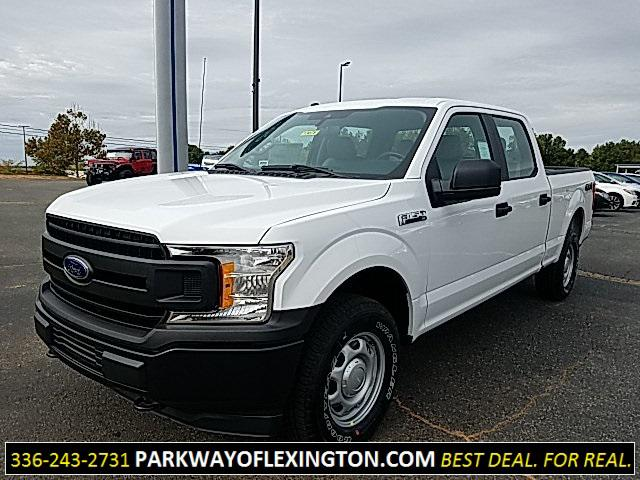Oxford White 2019 Ford F-150 XL 4D SuperCrew Lexington NC
