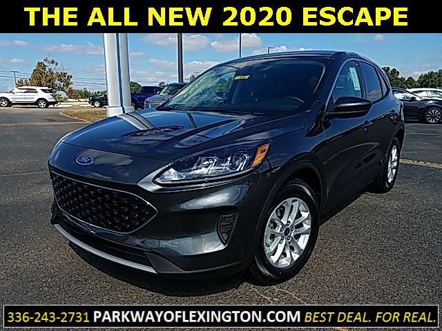 Magnetic Metallic 2020 Ford Escape SE 4D Sport Utility Lexington NC