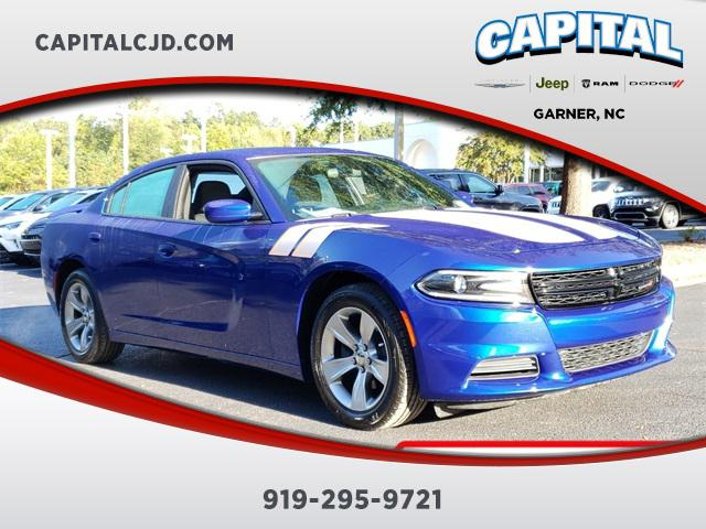 Indigo Blue 2018 Dodge Charger SXT 4dr Car Garner NC