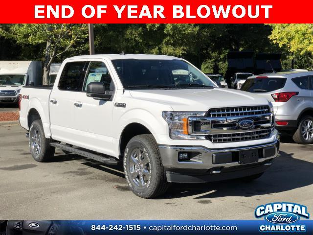 Oxford White 2019 Ford F-150 XLT 4D SuperCrew Charlotte NC