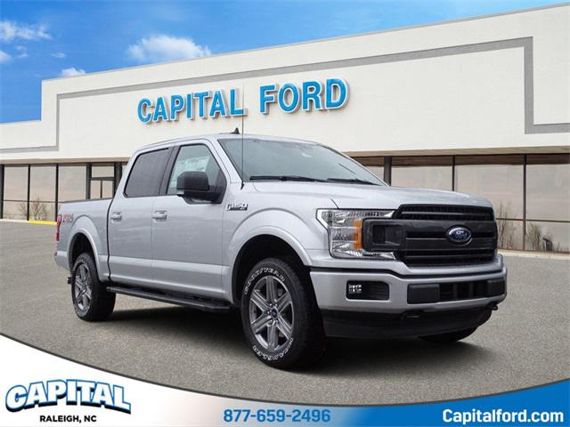 Black Metallic 2019 Ford F-150 XLT 4D SuperCrew Raleigh NC