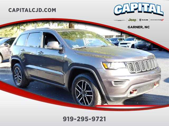 granite crystal metallic clearcoat 2019 Jeep Grand Cherokee TRAILHAWK SUV Garner NC