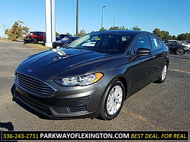 Magnetic Metallic 2020 Ford Fusion SE 4D Sedan Lexington NC