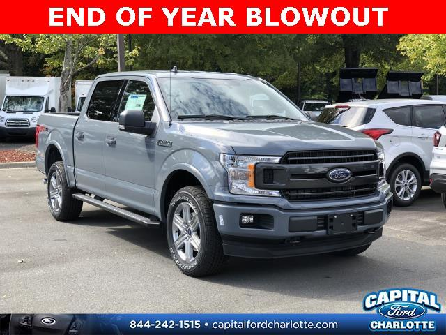 Abyss Gray Metallic 2019 Ford F-150 XLT 4D SuperCrew Charlotte NC