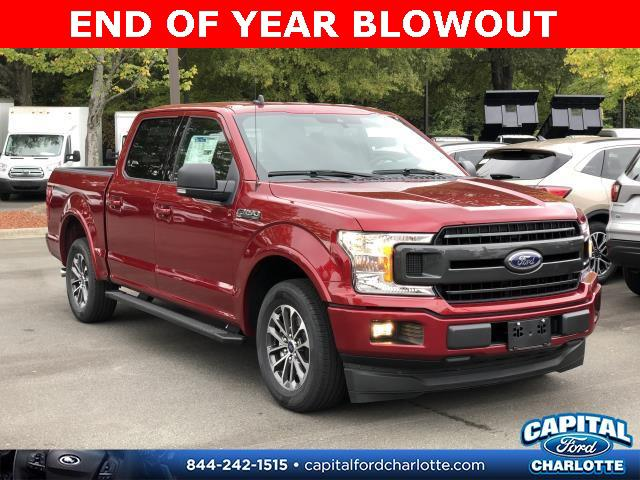 Ruby Red Metallic Tinted Clearcoat 2019 Ford F-150 XLT 4D SuperCrew Charlotte NC