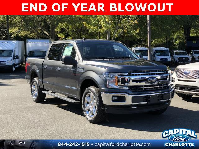 Magnetic Metallic 2019 Ford F-150 XLT 4D SuperCrew Charlotte NC