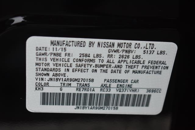 2016 INFINITI Q70 4dr Sdn V6 AWD 11