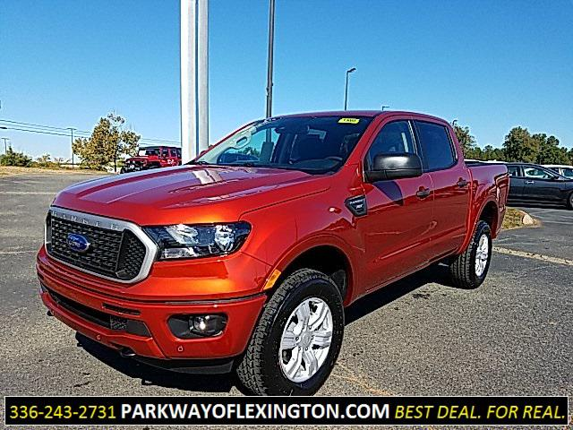 Chili Pepper Red 2019 Ford Ranger XLT 4D Crew Cab Lexington NC