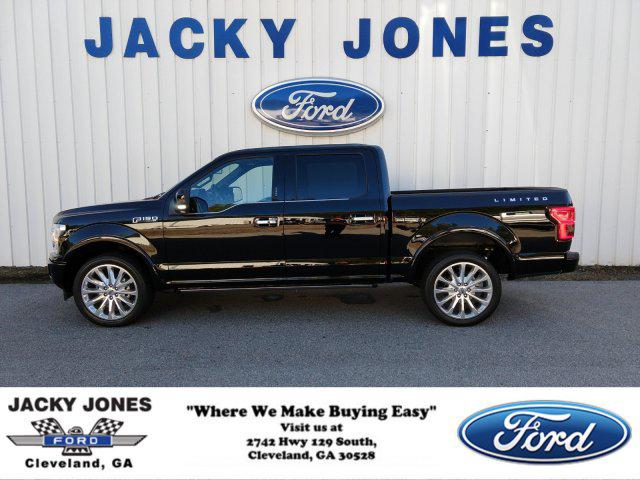 Jacky Jones Ford Cleveland Ga >> 2018 Ford F 150 Limited 1ftew1eg5jfb37823 For Sale On