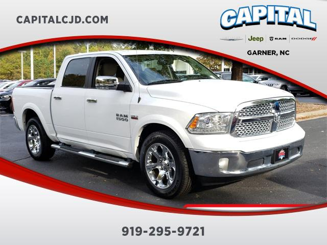 Bright White Clearcoat 2016 RAM 1500 LARAMIE Short Bed Garner NC