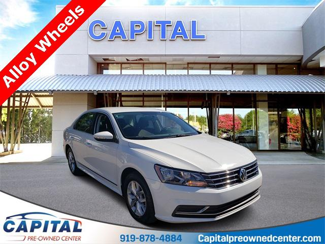 Pure White 2016 Volkswagen Passat 1.8T S 4dr Car Hillsborough NC