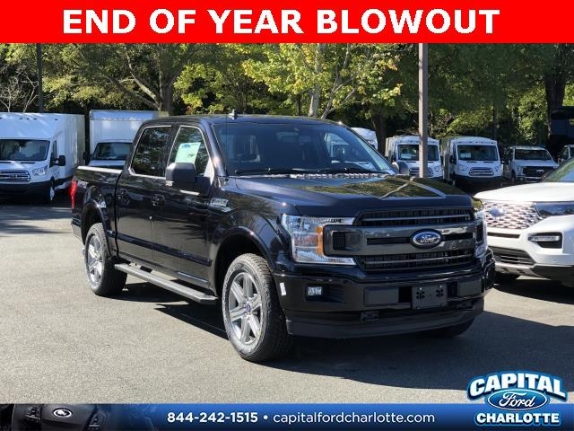 Agate Black Metallic 2019 Ford F-150 XLT 4D SuperCrew Charlotte NC