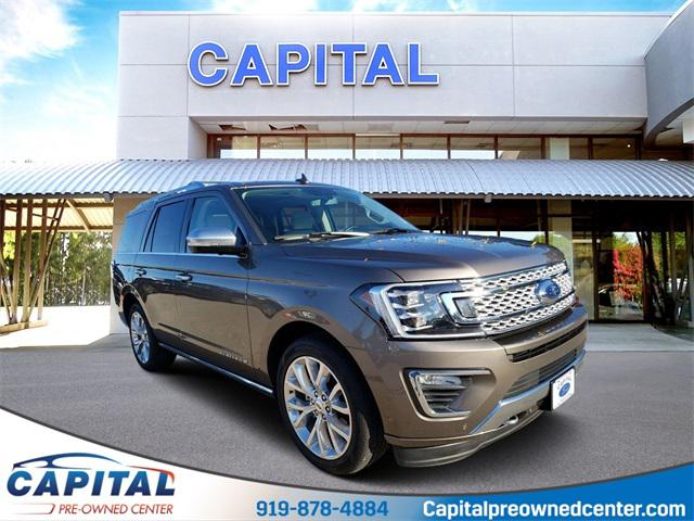 Stone Gray Metallic 2018 Ford Expedition PLATINUM SUV Raleigh NC