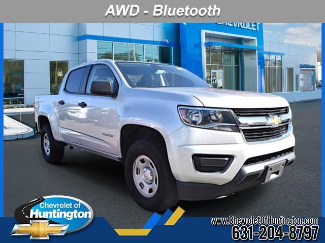 Silver Ice Metallic 2017 Chevrolet Colorado 4WD WT Short Bed Huntington NY