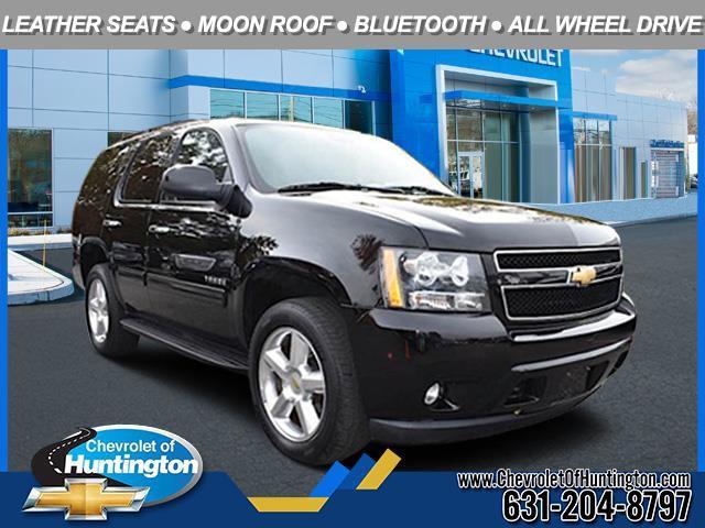 Black 2013 Chevrolet Tahoe LT SUV Huntington NY