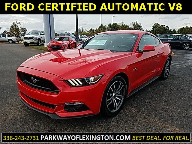 Race Red 2017 Ford Mustang GT 2D Coupe Lexington NC
