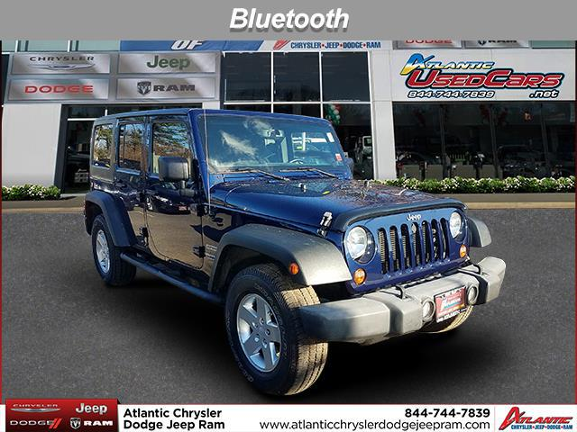 True Blue Pearlcoat 2013 Jeep Wrangler Unlimited SPORT SUV Huntington NY