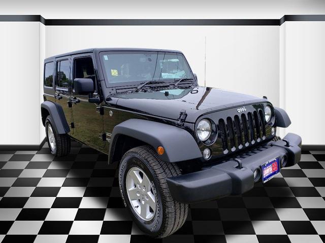 Black Clearcoat 2018 Jeep Wrangler Jk Unlimited Sport S SUV Neptune NJ