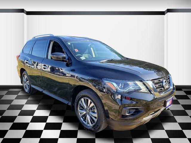 Magnetic Black Pearl 2019 Nissan Pathfinder S SUV Neptune NJ