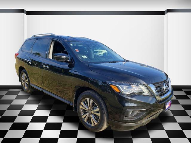Magnetic Black Pearl 2019 Nissan Pathfinder SV SUV Neptune NJ