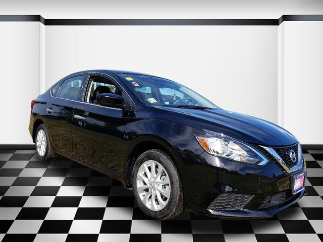 Super Black 2019 Nissan Sentra S 4dr Car Neptune NJ