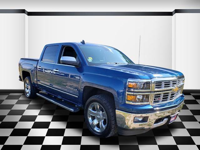 Deep Ocean Blue Metallic 2015 Chevrolet Silverado 1500 LTZ Short Bed Neptune NJ