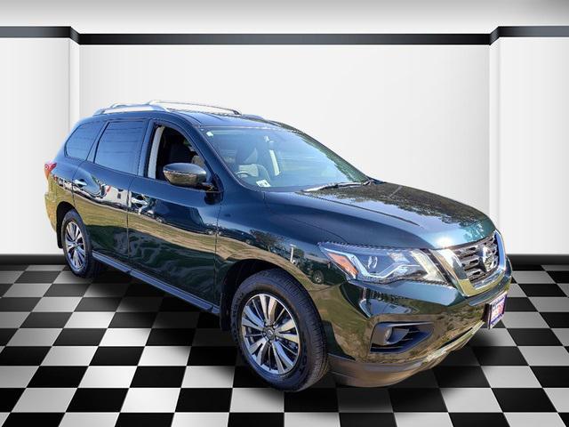 Midnight Pine Metallic 2019 Nissan Pathfinder SV SUV Neptune NJ