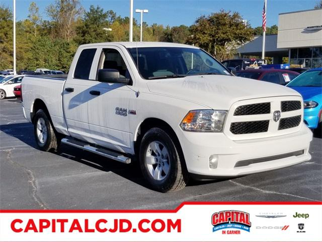 Bright White Clearcoat 2017 RAM 1500 EXPRESS Standard Bed Raleigh NC