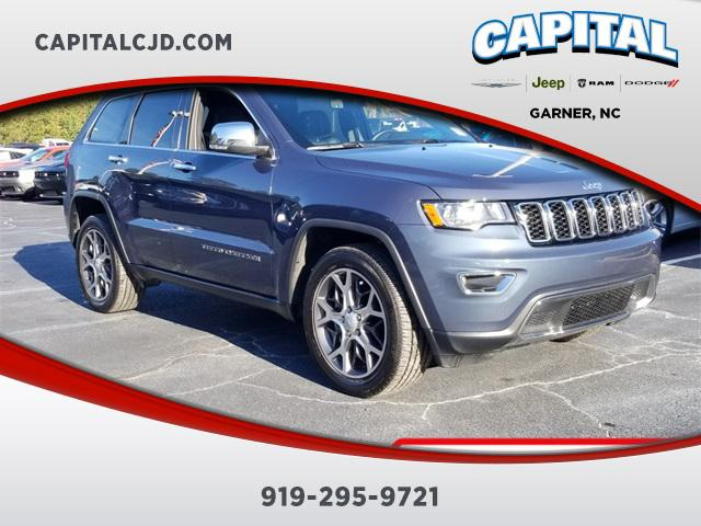 Slate Blue 2019 Jeep Grand Cherokee LIMITED SUV Garner NC