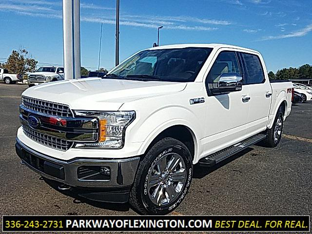 Star White Metallic Tri-Coat 2020 Ford F-150 LARIAT 4D SuperCrew Lexington NC