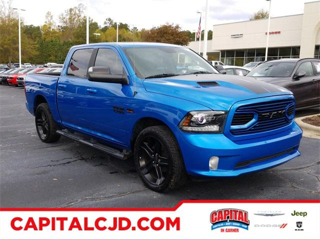 Blue Pearl 2018 RAM 1500 SPORT Short Bed Raleigh NC