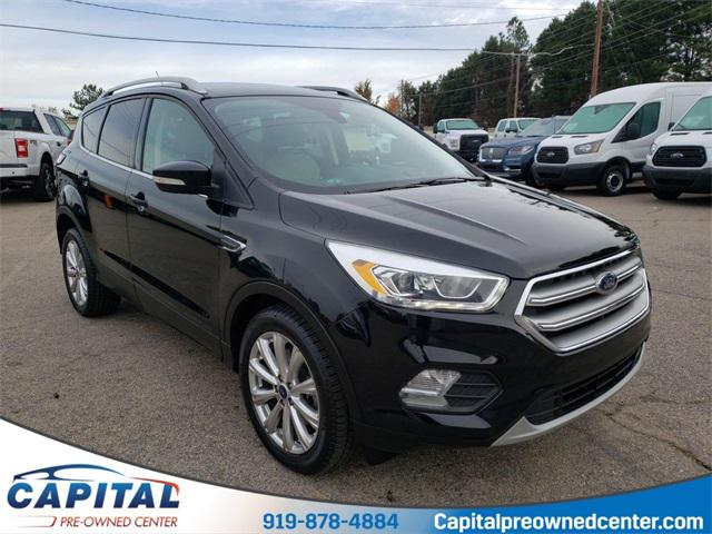 Shadow Black 2017 Ford Escape TITANIUM SUV Raleigh NC