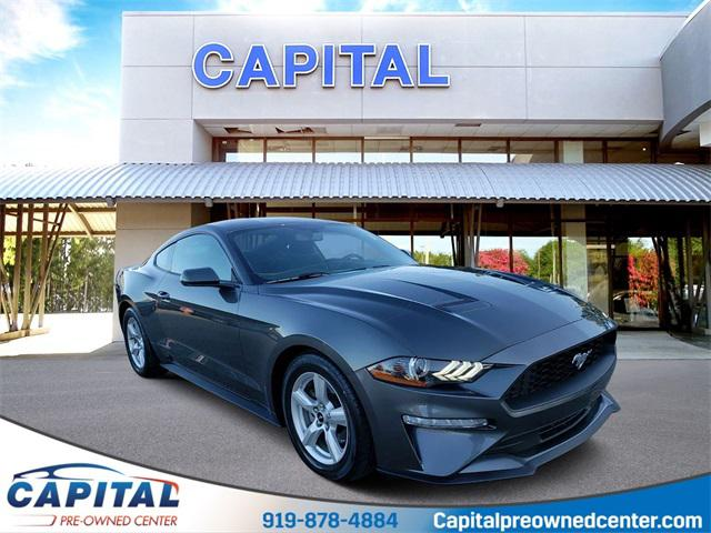 Magnetic Metallic 2018 Ford Mustang ECOBOOST 2dr Car Raleigh NC