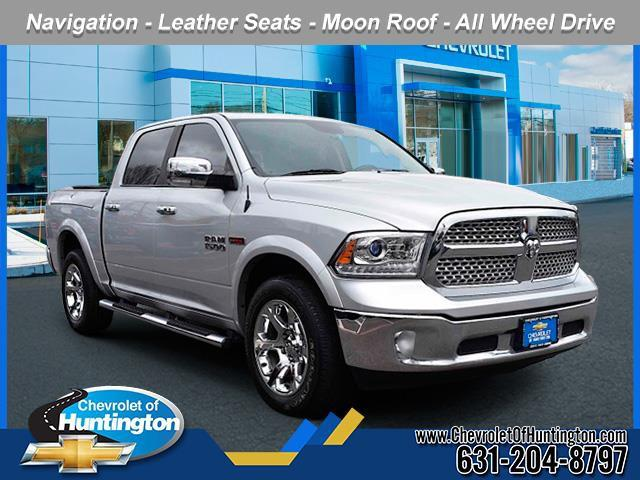 Bright Silver Metallic Clearcoat 2016 RAM 1500 LARAMIE Short Bed Huntington NY