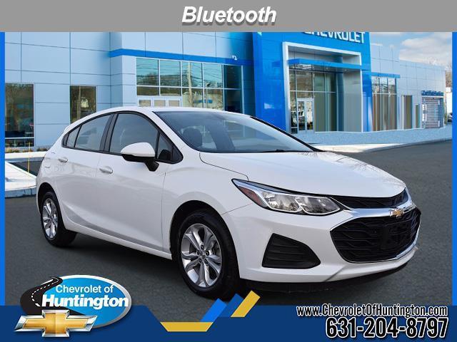 Summit White 2019 Chevrolet Cruze LS Hatchback Huntington NY