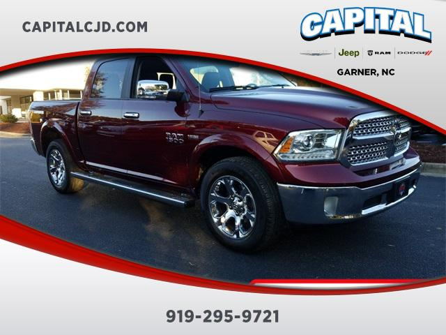 Red 2017 RAM 1500 LARAMIE Short Bed Garner NC