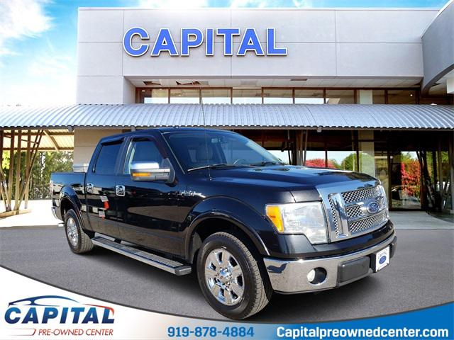Tuxedo Black 2010 Ford F-150 LARIAT Crew Pickup Raleigh NC