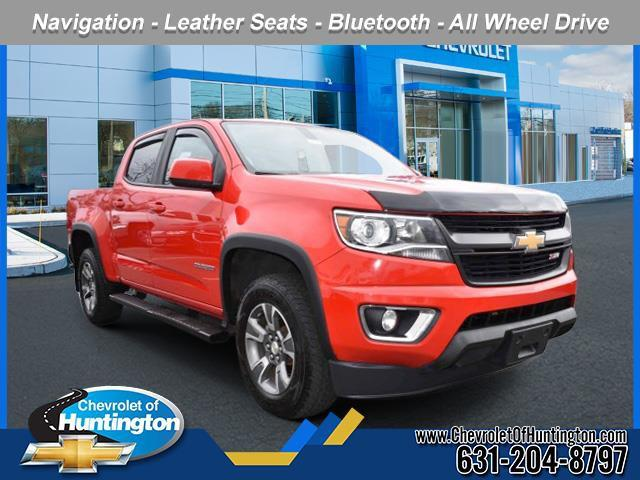 Red Hot 2015 Chevrolet Colorado 4WD Z71 Short Bed Huntington NY