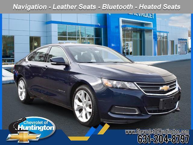Blue Velvet Metallic 2016 Chevrolet Impala LT 4dr Car Huntington NY
