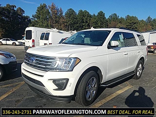 Star White Metallic Tri-Coat 2020 Ford Expedition XLT 4D Sport Utility Lexington NC