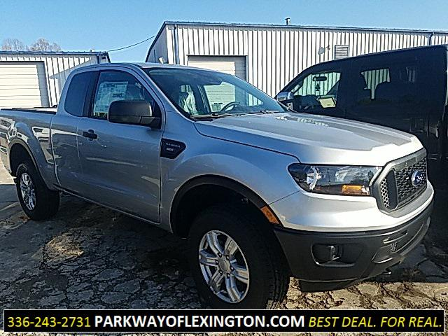 Ingot Silver Metallic 2019 Ford Ranger XL Super Cab Lexington NC