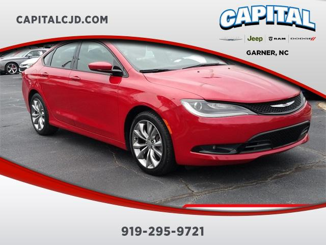 Redline Red 2016 Chrysler 200 S 4dr Car Garner NC