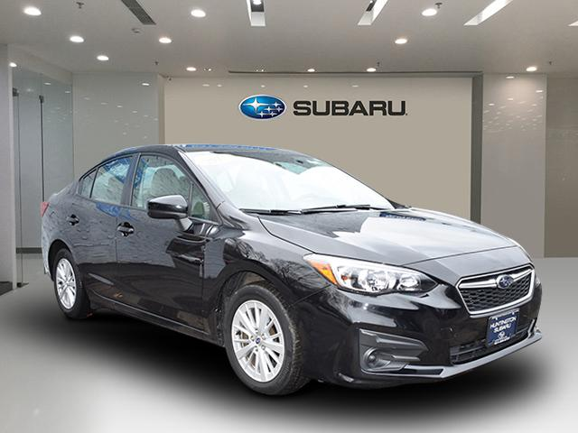 Crystal Black Silica 2017 Subaru Impreza PREMIUM 4dr Car