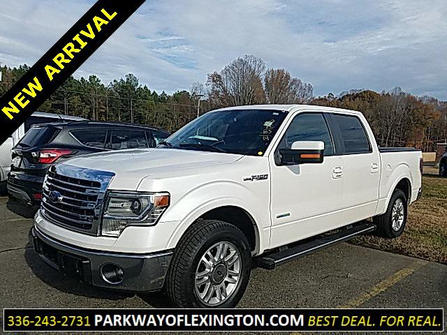 2014 Ford F-150 LARIAT 4D SuperCrew Slide
