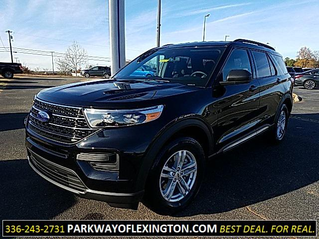 Agate Black Metallic 2020 Ford Explorer XLT 4D Sport Utility Lexington NC