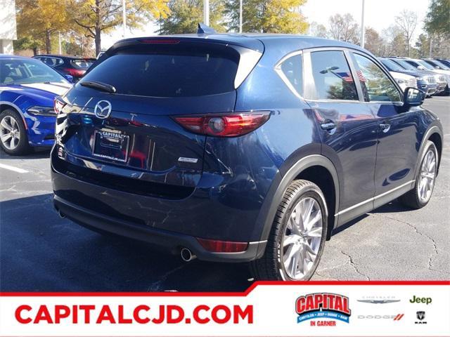 Deep Crystal Blue Mica 2019 Mazda Mazda CX-5 GRAND TOURING SUV Raleigh NC