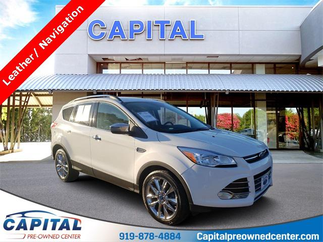 White Platinum Clearcoat Metallic 2016 Ford Escape SE 4D Sport Utility Raleigh NC