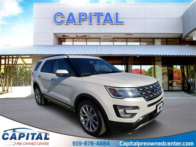 2017 Ford Explorer LIMITED 4D Sport Utility Slide