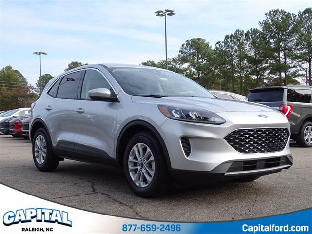 Ingot Silver 2020 Ford Escape SE 4D Sport Utility Raleigh NC